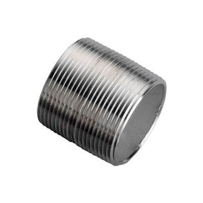 Ss 316/316l Schedule 40 Seamless Pipe Nipple 1/8xclose Npt Male - Pkg Qty 75