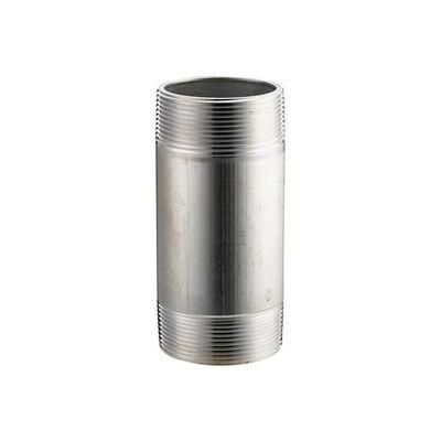 Aluminum Schedule 40 Pipe Nipple 1/4 X 6 Npt Male - Pkg Qty 50
