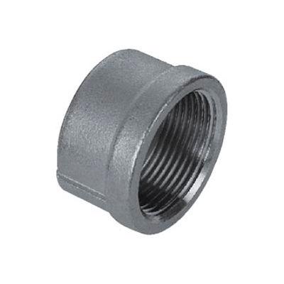 "Iso Ss 304 Cast Pipe Fitting Cap 1/4"" Npt Female - Pkg Qty 100"