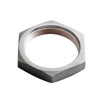 "Iso Ss 304 Cast Pipe Fitting Hex Locknut 3"" Npt Female - Pkg Qty 10"