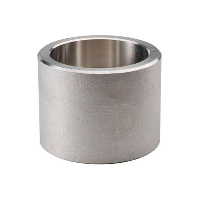 """Ss 304/304l Forged Pipe Fitting 1-1/2"""" Half Coupling Socket Weld - Pkg Qty 6"""