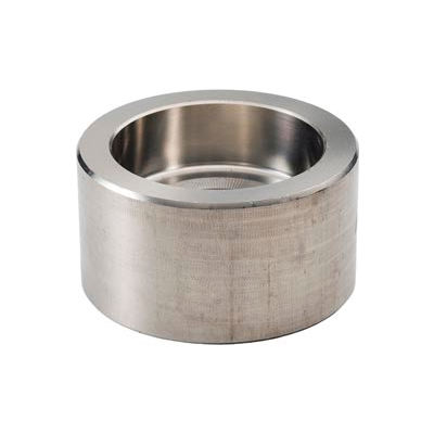 """Ss 304/304l Forged Pipe Fitting 1/8"""" Cap Socket Weld - Pkg Qty 28"""