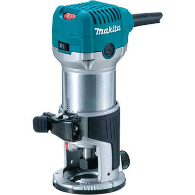 Makita® RT0701C 1-1/4 HP Compact routeur, base fixe, 10 000-30 000 tr/min, var. spd.