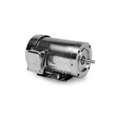 Marathon Motors PowerWash™ Washdown Motor, N411, 1/2HP, 208-230/460V, 1800RPM, 3PH, TENV