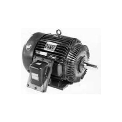 Marathon Motors Explosion Proof Motor, U002A, 1.5HP, 208-230/460V, 1800RPM, 3PH, EPFC