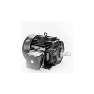 Marathon Motors Severe Duty Motor, W526, 184THFS9030, 5HP, 575V, 1800RPM, 3PH, 184T FR, TEFC