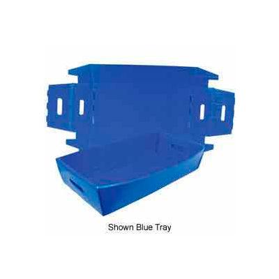 Corrugated Plastic Knockdown Tray, 24x12x4-1/2, Yellow (Min. Purchase Qty 100+) - Pkg Qty 500
