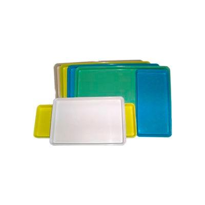 "Molded Fiberglass Color Coded Display Tray 334008 -12""W X 18""L, Pkg Qty 12, Blue - Pkg Qty 12"