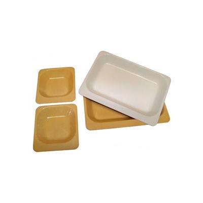 """Molded Fiberglass EntrTe Dish 361008 - 6""""W x 8-3/4""""L , Pkg Qty 12, Beige - Pkg Qty 12"""