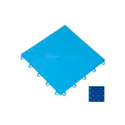 "Mateflex ProGym Multi-Sport Indoor Tile 363341, 12""L X 12""W, Royal Blue"