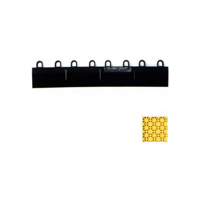 "Mateflex HomeCourt Edge Female Connecting Piece 450263, 12""L X 1-3/4""W, Yellow"