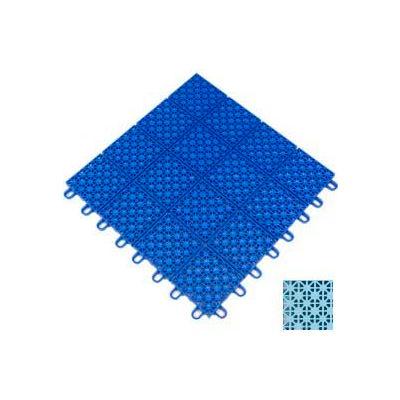 "Mateflex HomeCourt Multi-Sport Outdoor Tile 451369, 12""L X 12""W, Ice Blue"