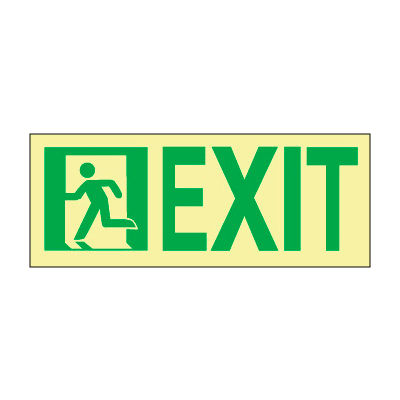 Glow NYC - Sign Exit Left