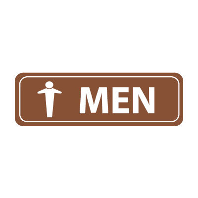 Architectural Sign - Men