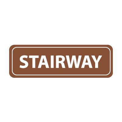Architectural Sign - Stairway