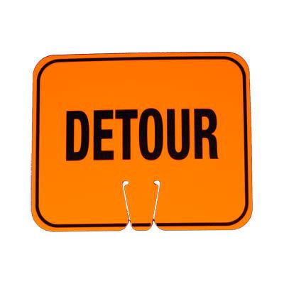 Cone Sign - Detour