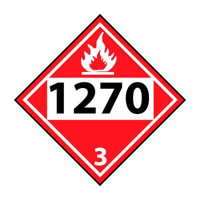 DOT Placard - 1270 3