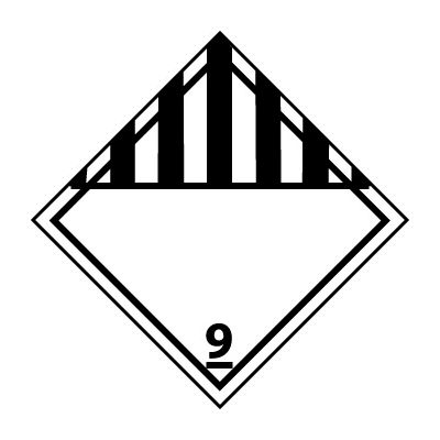 DOT Placard - Class 9