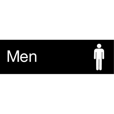 Engraved Sign - Men - Black