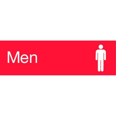 Engraved Sign - Men - Red