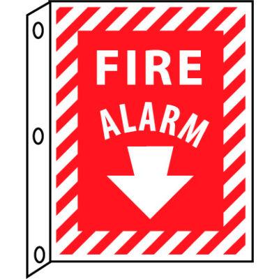 Fire Flange Sign - Fire Alarm