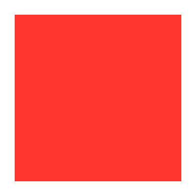 Flagging Tape - Fluorescent Red