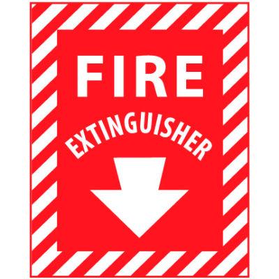 Fire Safety Sign - Fire Extinguisher - Fiberglass