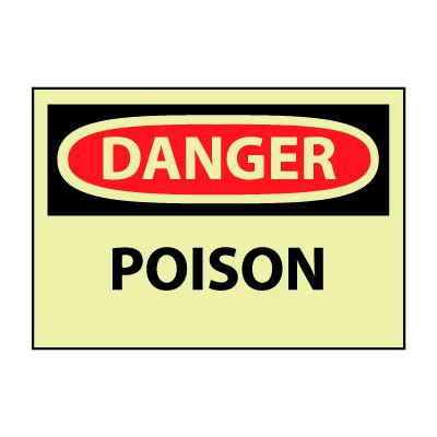 Glow Danger Rigid Plastic - Poison