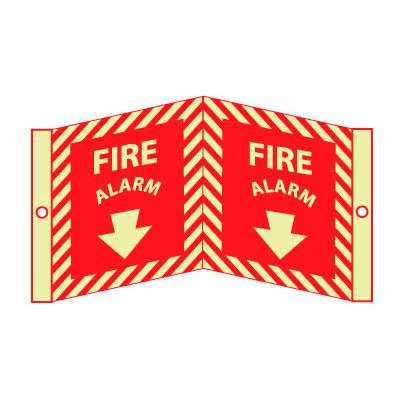 3D Glow Sign Acrylic - Fire Alarm