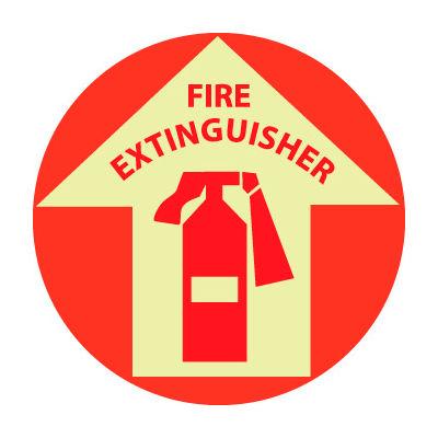 Glow Floor Sign - Fire Extinguisher