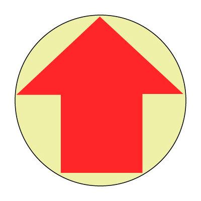 Glow Floor Sign - Arrow