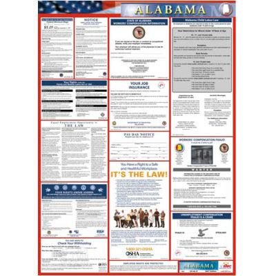 Labor Law Poster - Alabama