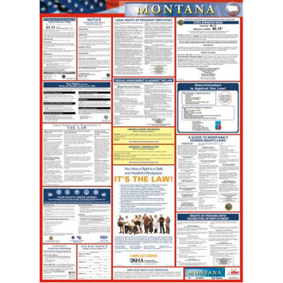 Labor Law Poster - Montana