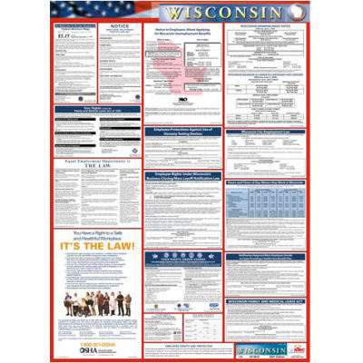 Labor Law Poster - Wisconsin