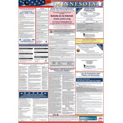 Labor Law Poster - Minnesota - Spanish