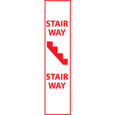 Fire Safety Sign - Stairway - Plastic