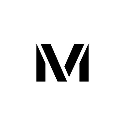 """Individual Character Stencil 24"""" - Letter M"""