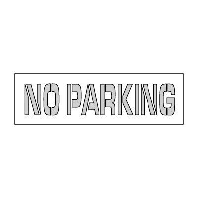 Pochoir de stationnement 67 x 8 - pas de Parking
