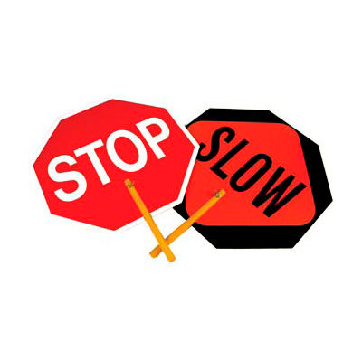 Paddle Sign - Stop/Slow