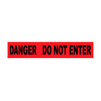 Printed Barricade Tape - Danger Do Not Enter