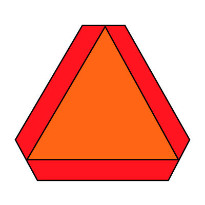 DOT Placard - Slow Moving Vehicle Sign