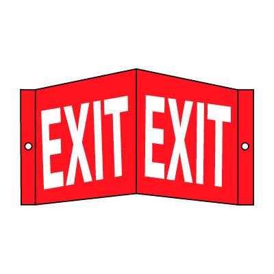 Visi Signs™ Facility Exit Sign, 14.5''X 8''