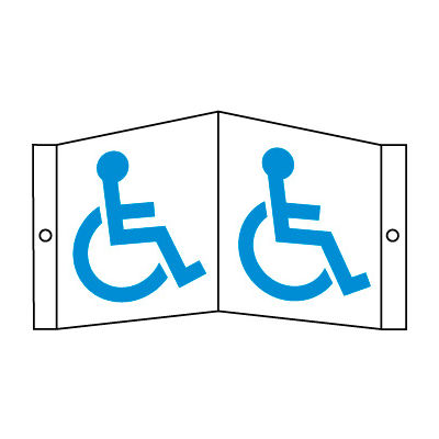 Facility Visi Sign - Disabled Access Symbol