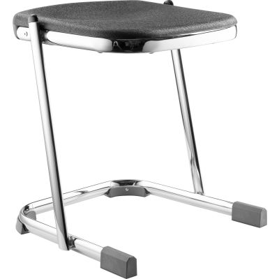 """NPS Z-Stool with 18""""H Blow Molded Seat - Elephant Series"""