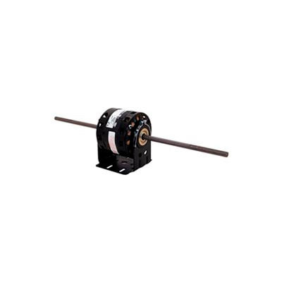 "Century 9614, 5"" Double Shaft Blower Motor Less Base 208-230 Volts 1550 RPM 1/10 HP - 7/8"""