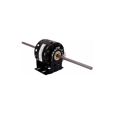 """Century DB6504, 5"""" Double Shaft Blower Motor Resilient Base 208-230 Volts 1075 RPM 1/10 HP"""