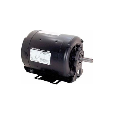 Siècle F268, Split Phase Resilient Base Motor 100-115/200-230 Volts 1800 RPM 1/2 HP
