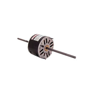 "Century RA1036, 5-5/8"" Double Shaft Fan/Blower Motor 208-230 Volts 1075 RPM 1/3 HP"