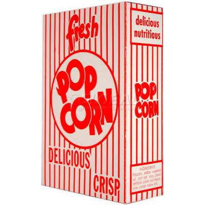 Popcorn classique extra-large Paragon 1073 boîtes 2,3 oz 50/caisse