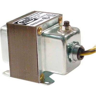 RIB® Transformer TR100VA001, 100VA, 120-24V, Single Hub, Foot Mount, Circuit Breaker